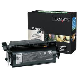 LEXMARK - LEXMARK 12A6865 SİYAH ORJİNAL TONER - LEXMARK T620-T622 TONERİ