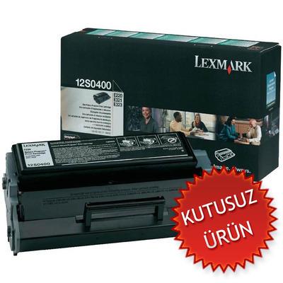 LEXMARK - Lexmark 12S0400 Siyah Orjinal Toner (U)