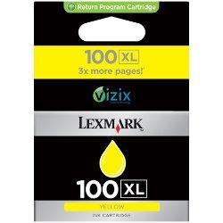LEXMARK - Lexmark 14N1071E 100XL Yüksek Kapasiteli Sarı Mürekkepli Kartuş