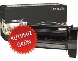 LEXMARK - LEXMARK 15G042K SİYAH ORJİNAL TONER-C752/C760 (Kutusuz Ürün)