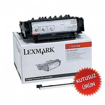 LEXMARK - LEXMARK 17G0154 YÜKSEK KAPASİTE SİYAH TONER (U)