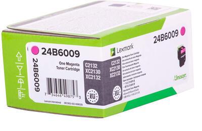 LEXMARK - Lexmark 24B6009 Kırmızı Orjinal Toner XC2130, XC2132