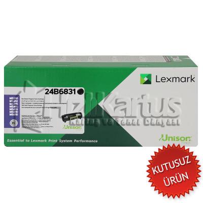 LEXMARK - Lexmark 24B6831 Siyah Orjinal Toner (U)