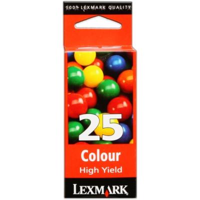 LEXMARK - Lexmark 25 15M0125 Renkli Orjinal Kartuş F4270, P3120, P3140, X125, X4250, X4270