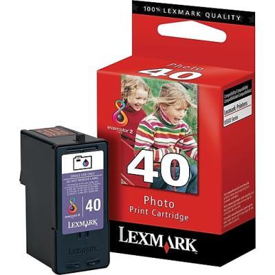 LEXMARK - LEXMARK 40 18Y0340E ORJİNAL FOTOĞRAF KARTUŞU Z1520 / P350 / X7500