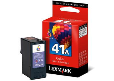 LEXMARK - LEXMARK 41A 18Y0341E ORJİNAL RENKLİ KARTUŞ Z1520 / P350 / X7500