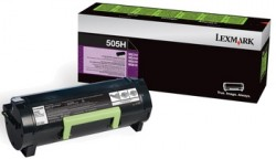 LEXMARK - LEXMARK 505H 50F5H00 SİYAH ORJİNAL TONER MS310 / MS410 / MS510 / MS610
