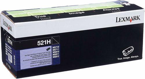 Lexmark 52D1H00 Siyah Orjinal Toner Yüksek Kapasite - MS710 / MS711 / MS810 / MS811 / MS812