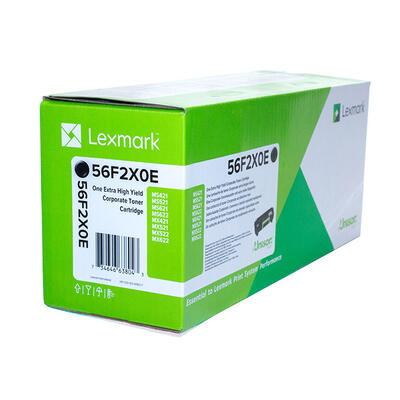 LEXMARK - Lexmark 56F2X0E Ekstra Yüksek Kapasite Siyah Orjinal Toner - MX521de / MS621dn