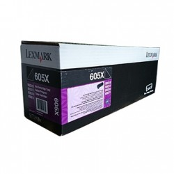 LEXMARK - LEXMARK 605X 60F5X00 SİYAH YÜKSEK KAPASİTE TONER-MX510 / MX511 / MX611