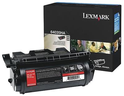 LEXMARK - Lexmark 64035HA Siyah Orjinal Toner Yüksek Kapasite - T640 / T642 / T644