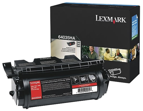 Lexmark 64035HA Siyah Orjinal Toner Yüksek Kapasite - T640 / T642 / T644