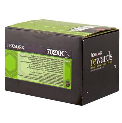 LEXMARK - Lexmark 70C2XKE Yüksek Kapasite Siyah Orjinal Toner - CS510de / CS510dte
