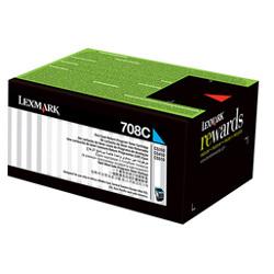 LEXMARK - LEXMARK 70C80C0 708C MAVİ ORJİNAL TONER CS310/CS410/CS510 1.000 Sayfa
