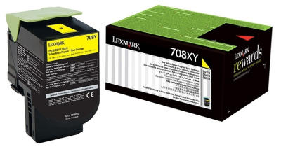 LEXMARK - LEXMARK 70C8XY0 708XY SARI ORJİNAL TONER - CS510