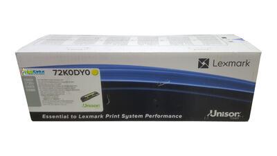 LEXMARK - Lexmark 72K0DY0 Sarı Orjinal Developer Ünitesi - CS820 / CX825de / CX860de
