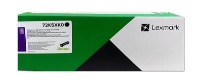 LEXMARK - Lexmark 72K5XK0 Ekstra Yüksek Kapasite Siyah Orjinal Toner - CS820