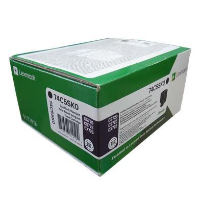 LEXMARK - LEXMARK 74C5SK0 SİYAH ORJİNAL TONER Standart Kapasite CS720 / CS725 / CX725
