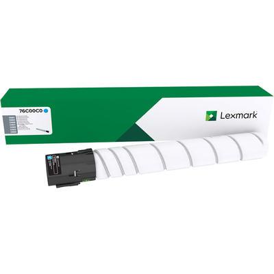 LEXMARK - Lexmark 76C00C0 Mavi Orjinal Toner CX921, CX922, CX923, CX924, CS921, CS923
