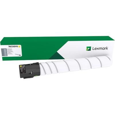 LEXMARK - Lexmark 76C00Y0 Sarı Orjinal Toner CX921, CX922, CX923, CX924, CS921, CS923