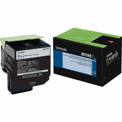 LEXMARK - Lexmark 80C1XK0 Siyah Orjinal Toner Yüksek Kapasite CX510 Serisi