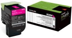 LEXMARK - LEXMARK 808HM KIRMIZI ORJİNAL TONER (80C8HM0) CX410 / CX510 Yüksek Kapasite