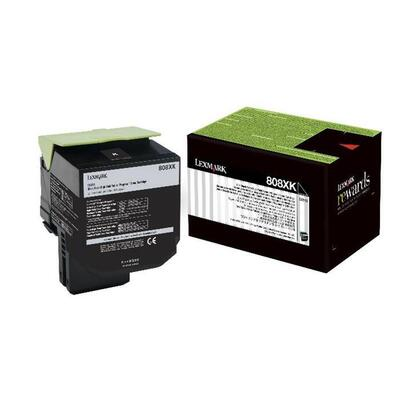 LEXMARK - Lexmark 80C8XKE (808XK) Siyah Orjinal Toner - CX510 Toner