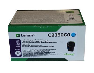 LEXMARK - Lexmark C2350C0 Mavi Orjinal Toner - C2240 / C2325dw / C2425dw