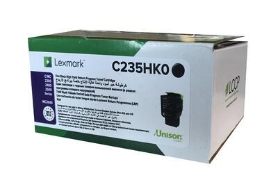 LEXMARK - Lexmark C235HK0 Siyah Orjinal Toner - C2240 / C2325dw / C2425dw