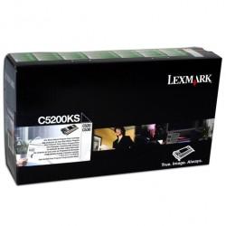LEXMARK - LEXMARK C5200KS SİYAH ORJİNAL TONER - C520 / C524 / C530