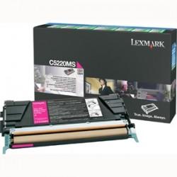 LEXMARK - LEXMARK C5220MS KIRMIZI ORJİNAL TONER - C522 / C524 / C530