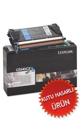 LEXMARK - Lexmark C5340CX Mavi Orjinal Toner - C524 / C534 (C)