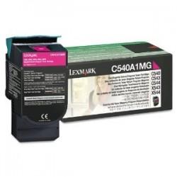 LEXMARK - LEXMARK C540A1MG KIRMIZI ORJİNAL TONER-C540/C543/C544/X543/X544/X546