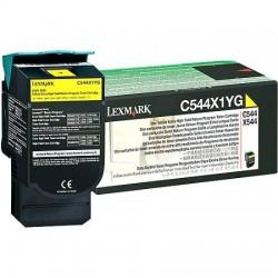 LEXMARK - Lexmark C544X1YG Sarı Orjinal Toner C540/C544/X544/X546
