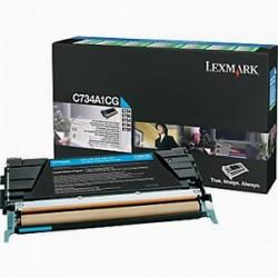 LEXMARK - LEXMARK C734A1CG MAVİ ORJİNAL TONER - C734 / C736 / X734 / X736 / X738