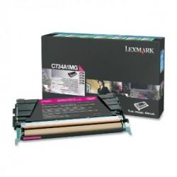 LEXMARK - LEXMARK C734A1MG KIRMIZI ORJİNAL TONER - C734 / C736 / X734 / X736 / X738