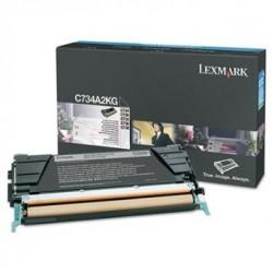 LEXMARK - LEXMARK C734A2KG SİYAH ORJİNAL TONER - C734 / C736 / X734 / X736 / X738