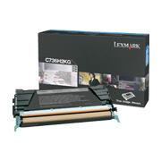 LEXMARK - Lexmark C736H2KG Yüksek Kapasite Siyah Orjinal Toner - X736 / X738
