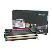 LEXMARK - Lexmark C736H2MG Yüksek Kapasite Kırmızı Orjinal Toner - X736 / X738