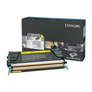 LEXMARK - Lexmark C736H2YG Yüksek Kapasite Sarı Orjinal Toner - X736 / X738