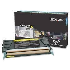 LEXMARK - LEXMARK C746A1YG SARI ORJİNAL TONER C746 / C748