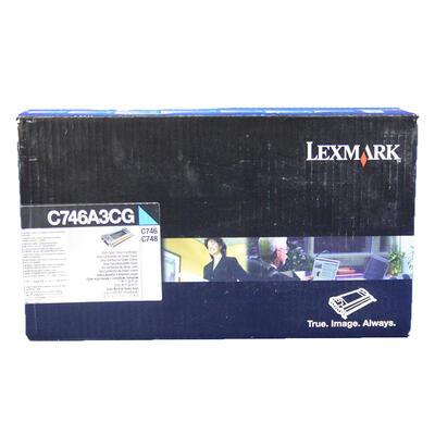 LEXMARK - Lexmark C746A3CG Mavi Orjinal Toner - C746 / C748