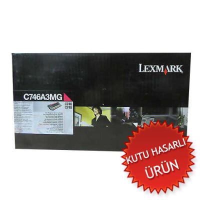 LEXMARK - Lexmark C746A3MG Kırmızı Orjinal Toner - C746 / C748 (C)