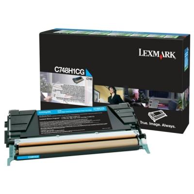 LEXMARK - LEXMARK C748H1CG MAVİ ORJİNAL TONER