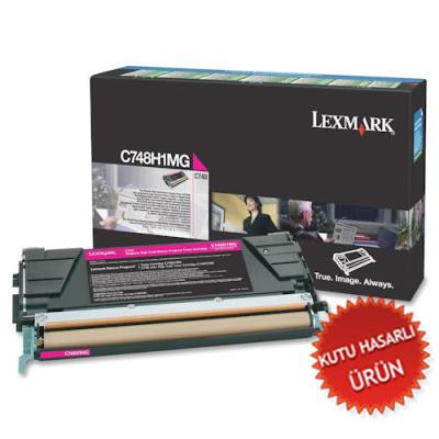 LEXMARK - LEXMARK C748H1MG KIRMIZI ORJİNAL TONER(C)