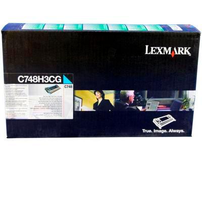LEXMARK - Lexmark C748H3CG Mavi Orjinal Toner - C748