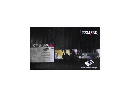 Lexmark C748H3MG Kırmızı Orjinal Toner 10.000 Sayfa