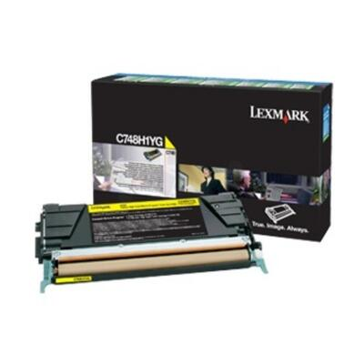 LEXMARK - Lexmark C748H3YG Sarı Orjinal Toner - C748de / C748dte