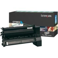 LEXMARK - LEXMARK C7720CX MAVİ ORJİNAL TONER - C772 / X772