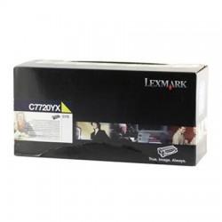 LEXMARK - LEXMARK C7720YX SARI ORJİNAL TONER - C772 / X772